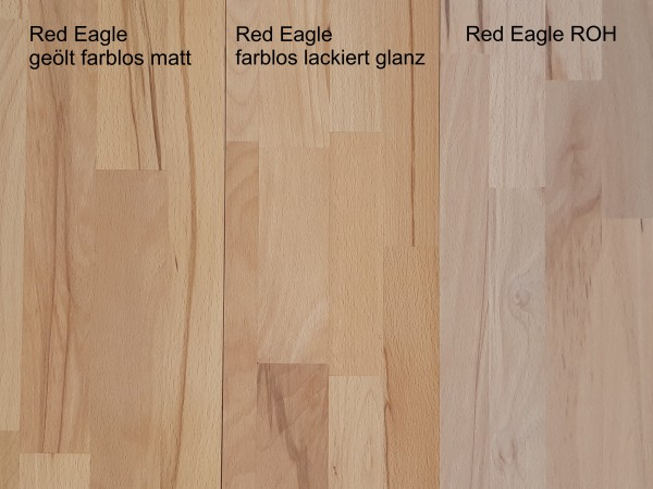 """Edelstahl Garderobenleiste Typ """"Red Eagle1"""" mit Exclusivholz 16,4x95,5cm, 3 Haken"""